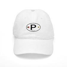 Portugal Intl Oval Baseball Cap