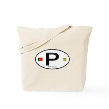 Portugal Intl Oval Tote Bag