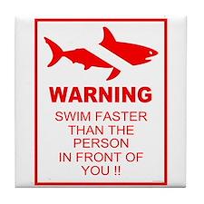 shark warning back copy.png Tile Coaster