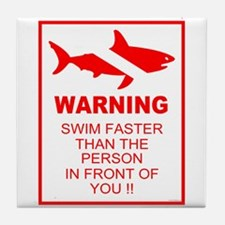shark warning back copy.png Tile Coaster
