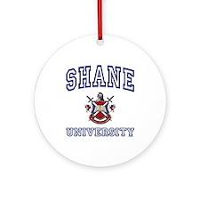 SHANE University Ornament (Round)