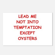 oysters Postcards (Package of 8)