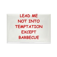 barbecue Rectangle Magnet (10 pack)