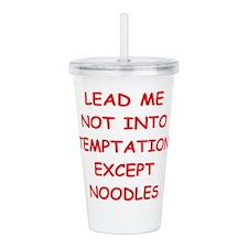 noodles Acrylic Double-wall Tumbler