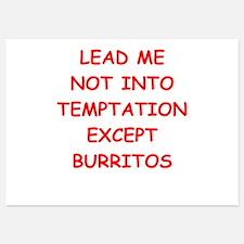 burritos Invitations