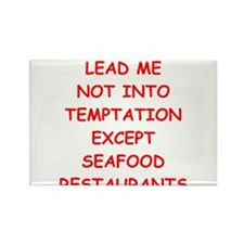 seafood Rectangle Magnet (100 pack)