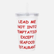 seafood Acrylic Double-wall Tumbler