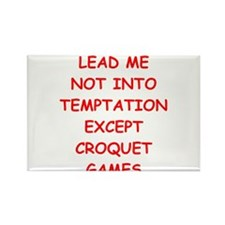 CROQUET Rectangle Magnet