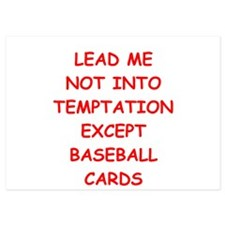 baseball cards Invitations