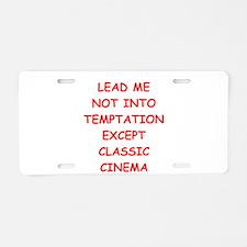 classic cinema Aluminum License Plate