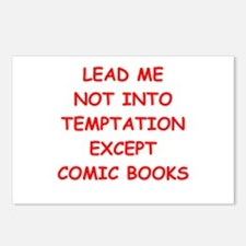 comic book Postcards (Package of 8)
