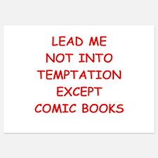 comic book Invitations