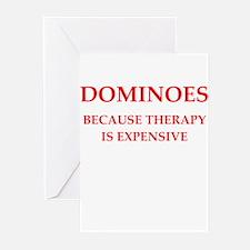 dominoes Greeting Cards (Pk of 20)