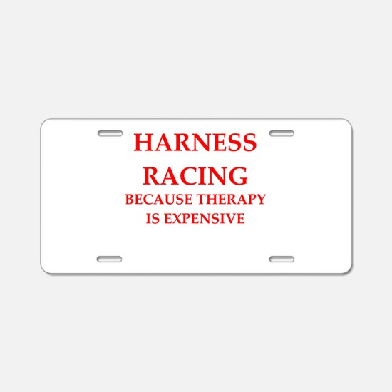 harness racing Aluminum License Plate
