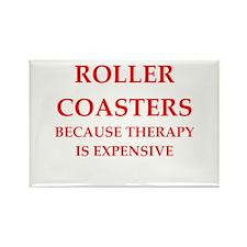 roller coaster Rectangle Magnet (10 pack)