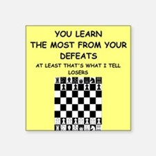 "chess Square Sticker 3"" x 3"""