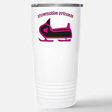 Snowmobile Princess Stainless Steel Travel Mug