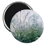 Lupines & Crows Magnet