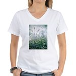 Lupines & Crows Women's V-Neck T-Shirt
