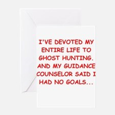 ghort hunting Greeting Card
