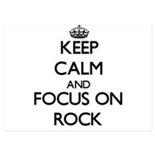 Keep Calm and focus on Rock Invitations