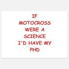 motocross Invitations