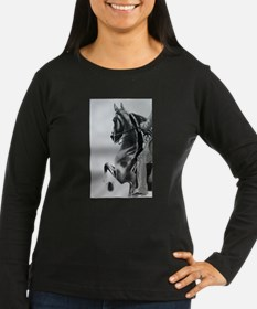 American Saddlebred pencil drawing Long Sleeve T-S