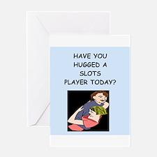 slots Greeting Card