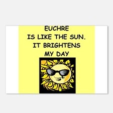 euchre Postcards (Package of 8)