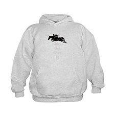Just Get Over It Horse Jumper Hoodie