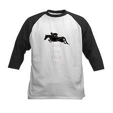 Just Get Over It Horse Jumper Baseball Jersey