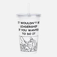 leadership Acrylic Double-wall Tumbler