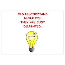 electrician Invitations