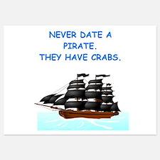pirates Invitations