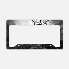 Dark Tree License Plate Holder