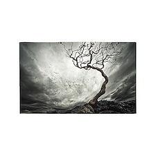 Dark Tree 3'x5' Area Rug