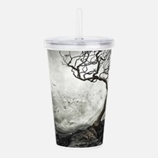 Dark Tree Acrylic Double-wall Tumbler