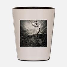 Dark Tree Shot Glass