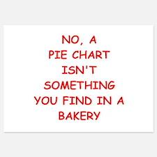 pie chart Invitations