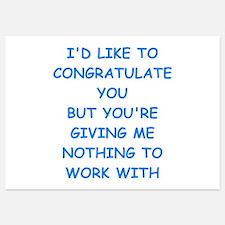congratulations Invitations