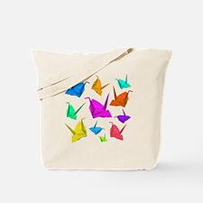 ColorfulCranes camara Tote Bag