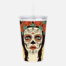 Day of the Dead Acrylic Double-wall Tumbler