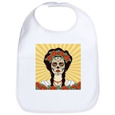Day of the Dead Bib