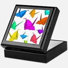 ColorfulCranes camara Keepsake Box