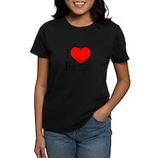 I Love Faulkner Women's Pastel T-Shirt