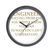 ENGINEER6 Wall Clock