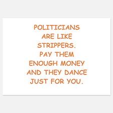 politicians Invitations