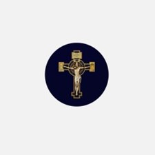 Benedictine Crucifix Mini Button (100 pack)