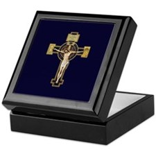Benedictine Crucifix Keepsake Box