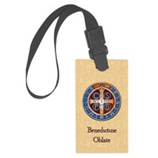 Benedictine Oblate Luggage Tag